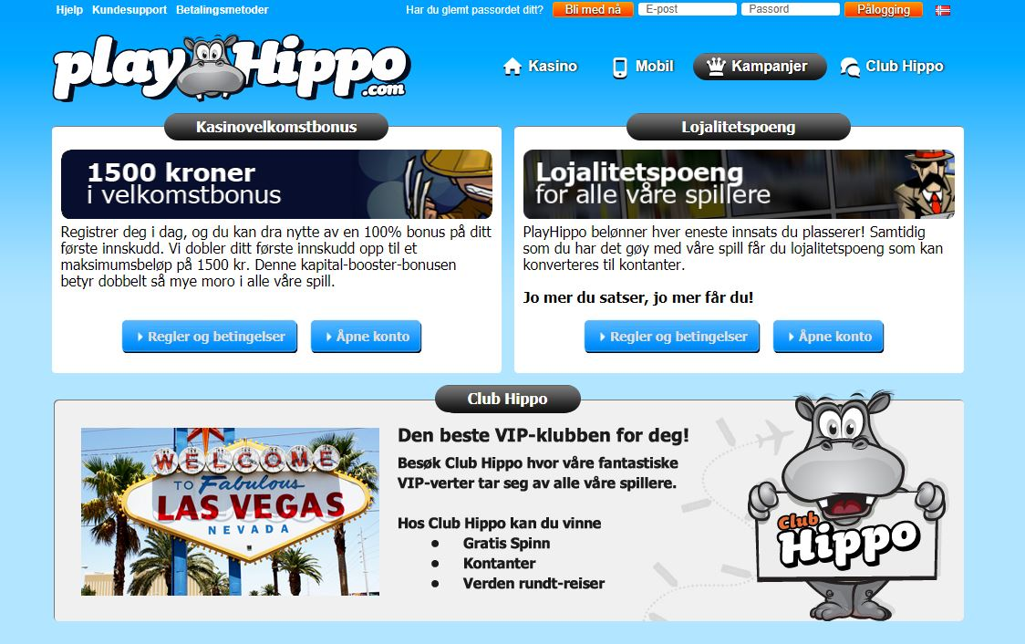 playhippo forside
